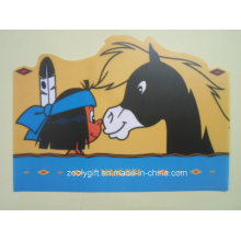 Personalizadas Non-Toxic Die-Cut forma PP Placemat