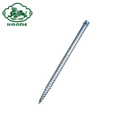 Fence Used Q235 Steel Ground Post Pole Anchor