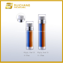 Flacon pompe Airless double Tube