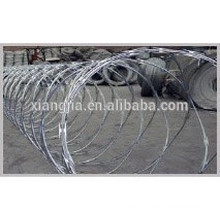 Q235 Low-Carbon steel rod razor wire fence