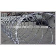 Q235 Low-Carbon steel rod razor wire fence