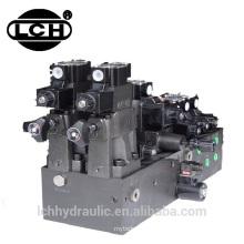 Bloco de poder da válvula hidráulica do trator 12v para fabricantes da máquina plástica