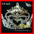 Fashion New design queen of heart crowns