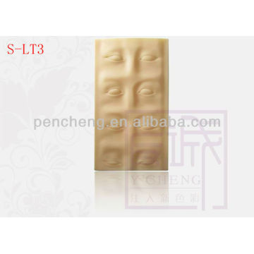 3-D Eyebrow Practice Tattoo skin & High Quality Permanent Makeup 3-D Eyebrow