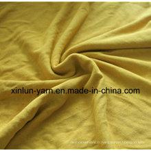 Tissu de coton imprimé par Spandex de polyester pour des vêtements / robe / sous-vêtements / robe de mariage