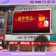 Panneau d'affichage à LED polychrome de P6 1r1g1b pour la publicité