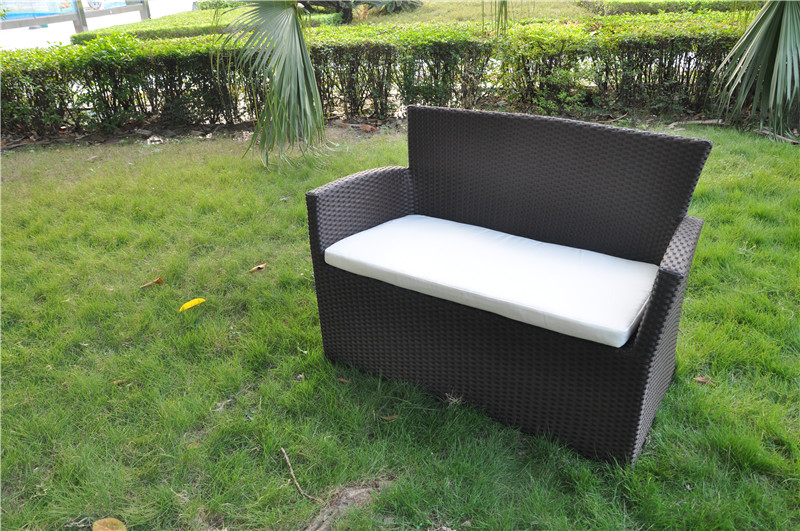 Rattan Loveseat