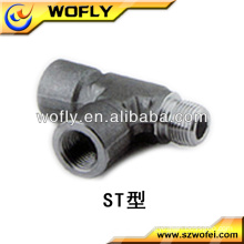 tee joint pipe tube pipe fittings female and male street tee