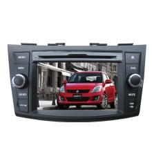 2DIN coches reproductor de DVD apto para Suzuki Swift 2012 con sistema de navegación de GPS de TV estéreo de Radio Bluetooth
