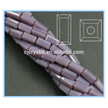 glass rectangle beads 2015 popular crystal beads for garments