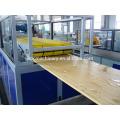 Popular Environmental friendly WPC wood plastic door panel extrusion machine
