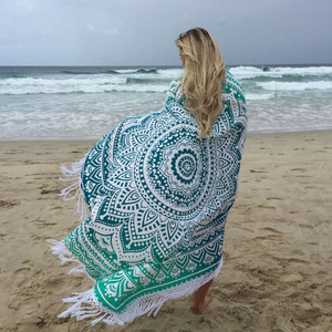 Warp Knitting Dock y Bay Beach Towel