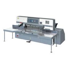 Toque a tela dupla roda guia papel máquina de corte