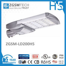 200W High Power 125lm / W LED Straßenlaterne