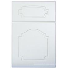 Porte de placard de cuisine de PVC (HLPVC-10)