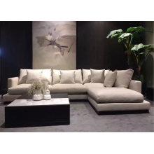 Modern Design Fabric Home Leisure Sectional Sofa Living Room Furniture