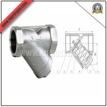 Válvula de retenção de Y-mola de aço inoxidável (YZF-V03)