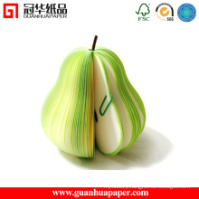 Customized Fruit Shaped Sticky Notes and Notepads