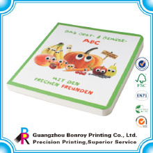 El libro de niños de lujo popular del diseño de la impresión a todo color al por mayor del proveedor de China reserva el libro