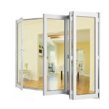 Porte pliante en aluminium de qualité supérieure