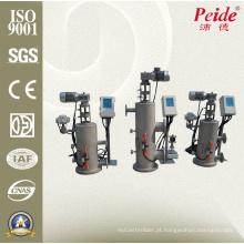Auto filtro de limpeza automático de China para o mar