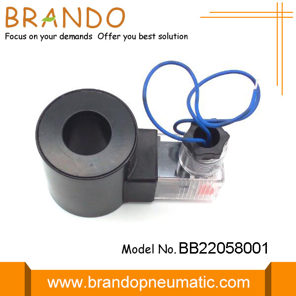 220V Normally Close Flying Lead Solenoid Coil