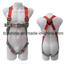 Poliéster de poliéster industrial ajustable Cinturón de seguridad de protección profesional de seguridad de arnés
