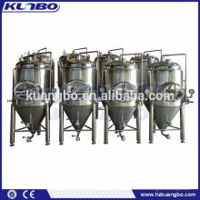 Réservoir horizontal et vertical en acier inoxydable pour la bière