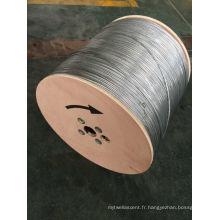 Câble coaxial semi-fini Rg59