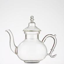 Glas Teekanne Edelstahl Infuser Teekanne für Iced Tea