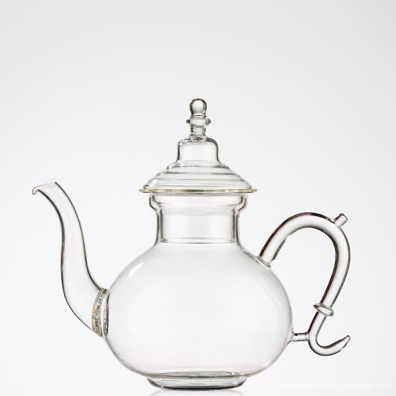 Glass Teapot with Heat Resistant Borosilicate