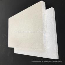 Nenhuma placa à prova de fogo material do óxido de magnésio do SORVO da placa do MGO do cloreto para a divisória da parede