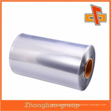 Factory sales PVC PE POF PET plastic packing film roll