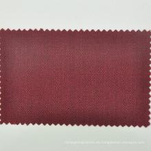 Trajes de lana de color rojo burdeos italiano LORO CADINI para hombre traje de boda