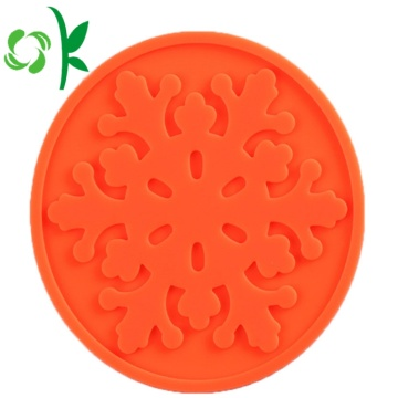 Van Goede Kwaliteit Silicone Table Coaster Round for Drinks