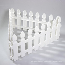 Composite Board Fencing Material Garden Plastic Fence