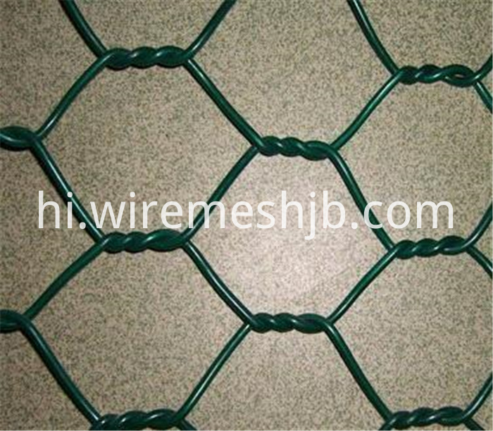 Decorative Chicken Wire Mesh Anti Corrosion Vinyl Coated 48 X 150