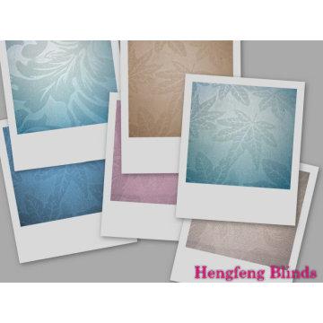 Tela tejida en relieve para cortinas enrollables