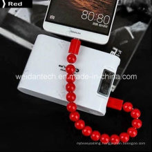 Beads Bracelet Designed Micro USB Cable