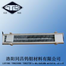 W-1 Dia16mm Bar Tungsten Rod preto superfície no padrão GB3459-82.