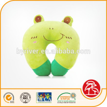 Plush baby head shaping cartoon design animal U shape neck pillow