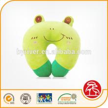 Plush baby head shaping cartoon design animal U shape neck pillow