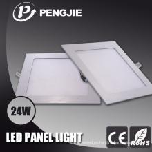 Panel de techo RGB LED luz 24W SMD2835 para iluminación del hogar