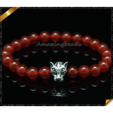 Gemstone Bracelets Moda 8 milímetros rodada Pulseira Jóias Ágata (CB0106)