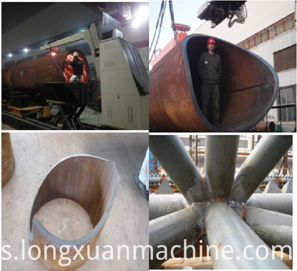 Pipe Intersecting Line Cutting Machine2