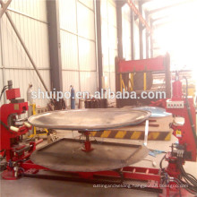 2014 Best Price Firm High Quality Tank Head Folding Bending Flanging Machine Shaping Machine