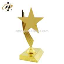 Hot selling custom design your own logo gold plate sex star parts oscar metal trophy