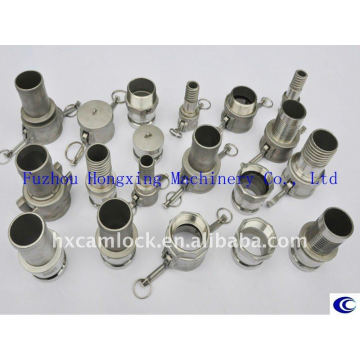Investment Casting SS316 Camlock Couplings According AA59326(MIL-C-27487)