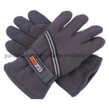 Wholesale Men′s Warm Polar Fleece Gloves/Mittens