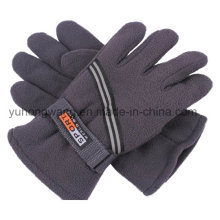 Wholesale Men′s Warm Polar Fleece Gloves/Mittens